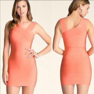 BeBe beautiful coral peachy dress